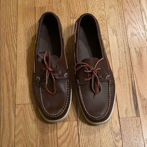 Brown Sebago Docksiders - 12 - Like New